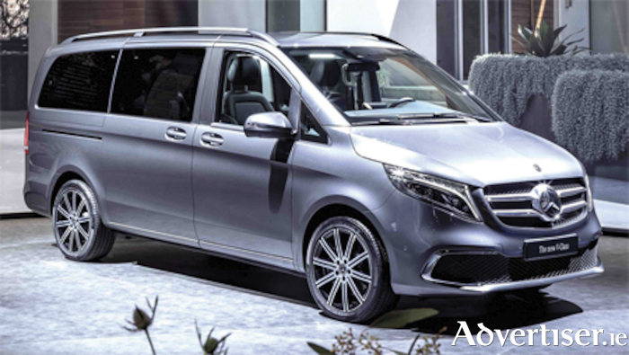 The new facelift V-Class MPV, one of the models that will be centre stage on the Mercedes-Benz stand at the forthcoming Geneva Motor Show.