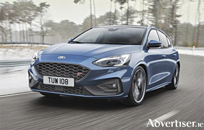 The all new Ford Focus ST