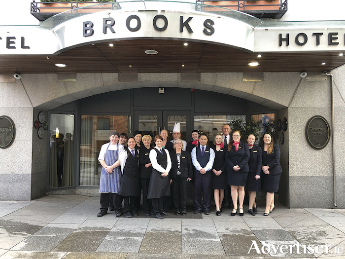 The team at Brooks Hotel.