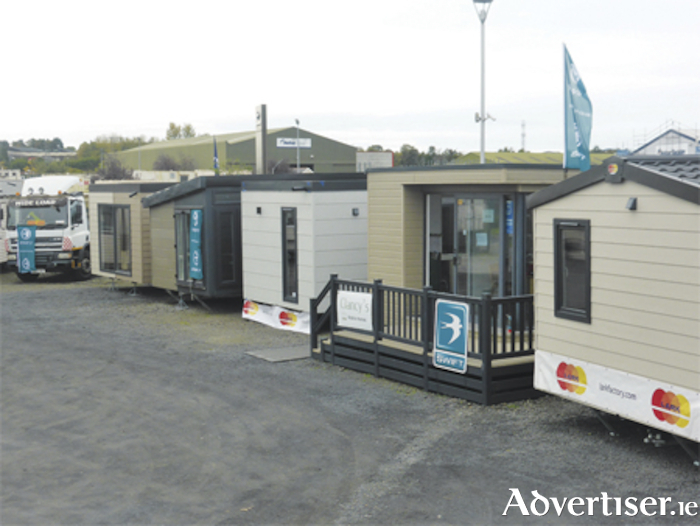 A wide range of mobile home units are readily available from Clancys Mobile Homes