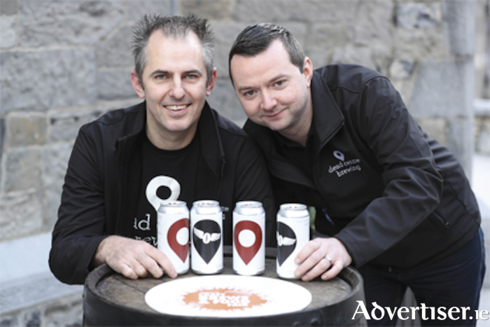 Roger Burslem-Rotheroe and Paudie Sweeney of Deadcentre Brewing