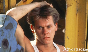 Kevin Bacon in the 1984 film version of Footloose.