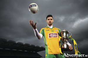Corofin's Martin Farragher ahead of the AIB GAA All-Ireland Senior Football Club Championship final at Croke Park on Sunday, March 17. Photo by Stephen McCarthy/Sportsfile