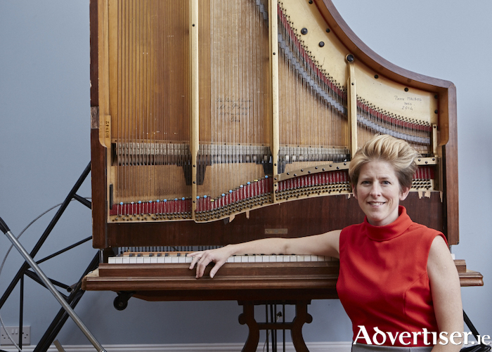 Advertiser ie - Sarah Nicolls and her 'Inside out Piano'
