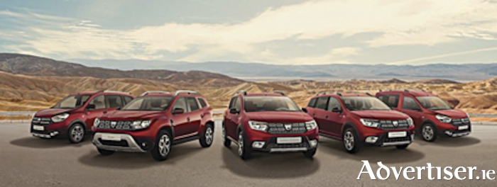 The limited edition Dacia Techroad