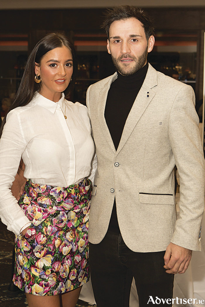 Maria Morley and Joe Boyle pictured at the tenth celebration of The Irish Fashion Innovation Awards in The Galmont Hotel & Spa. Photo Martina Regan