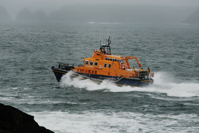 The Ballyglass Lifeboat. Photo: RNLI