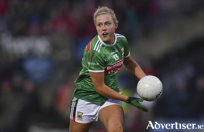 Back to winning ways: Fiona Doherty hit 1-2 for Mayo last weekend against Westmeath. Photo: Sportsfile