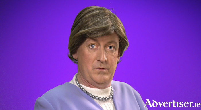 Barry Murphy as Angela Merkel.