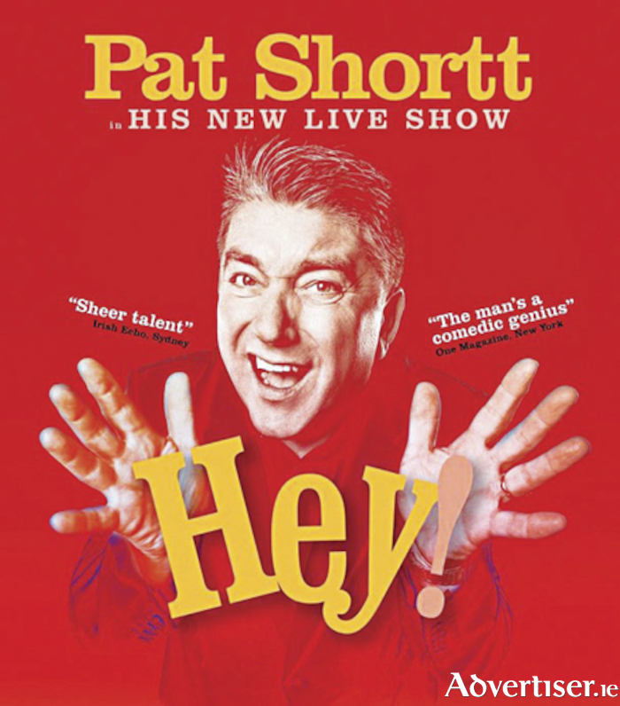 Pat Shortt performs his live show 'Hey!' at the Athlone Springs Hotel on April 12