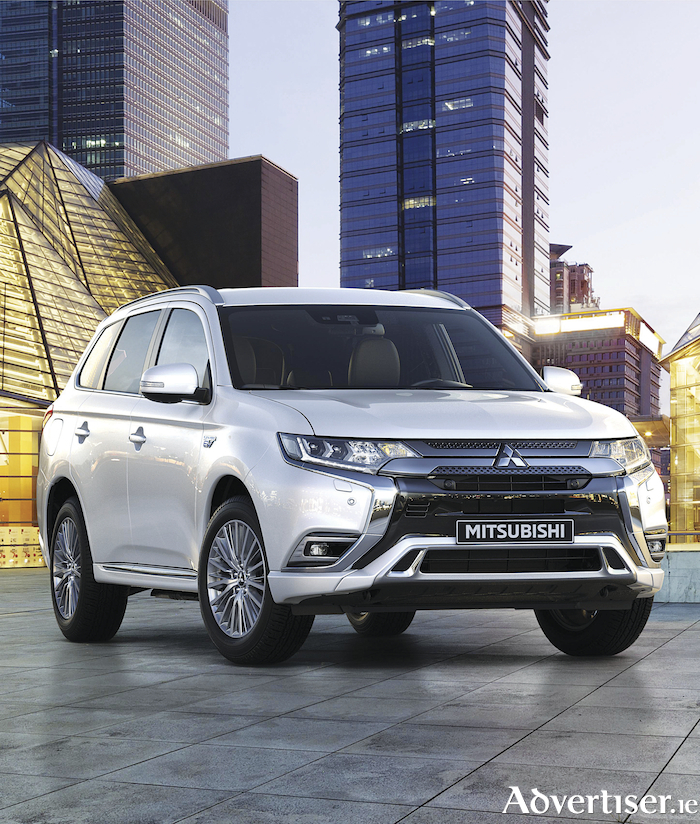 The new Mitsubishi Outlander PHEV.