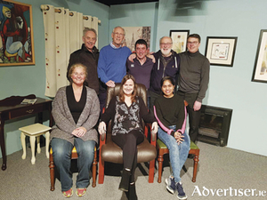 The cast of 'The Father' which plays in Athlone Little Theatre from April 6 for eight performances