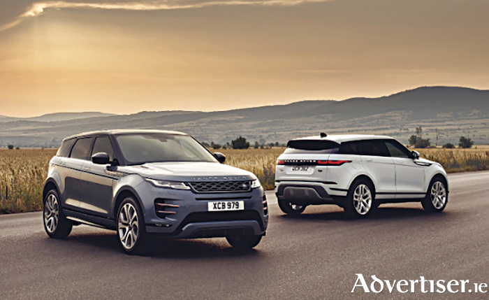 New Range Rover Evoque.
