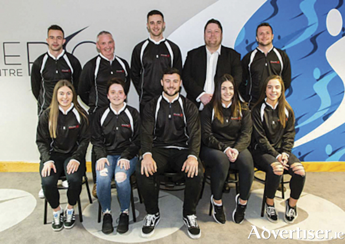 The sporting Ambassadors who were unveiled at a launch night held in Athlone RSC