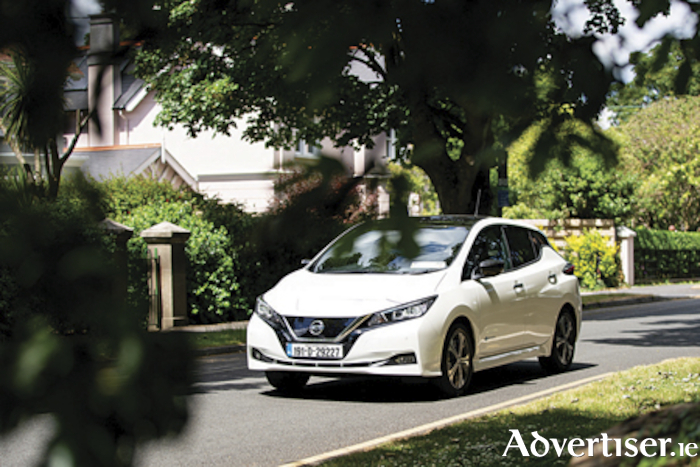 Nissan Leaf, the top selling EV to date this year