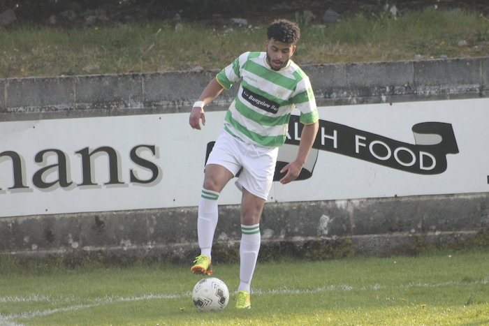 Key man: Castlebar Celtic's Jordan Loftus has been in good form for the Hoops' recently. Photo: Castlebar Celtic