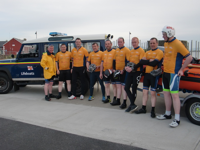 Ten volunteer lifeboat crew members from Ballyglass RNLI, in conjunction with Belmullet Cycling Club, will undertake a 150km cycle from Sligo Bay RNLI in Rosses Point to Ballyglass RNLI in Belmullet on Saturday, April 27.