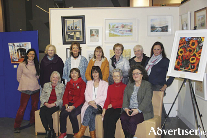 Member of the Athlone Arts group who will exhibit their latest works in the Athlone Library atrium from Thursday, April 25