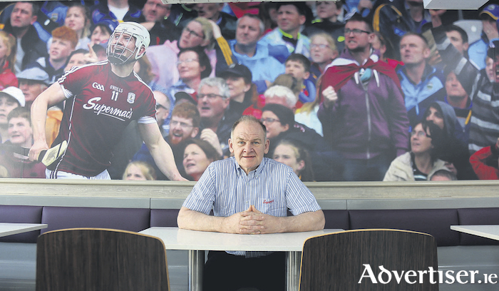 Former Galway hurler Pete Finnerty adopts new sporting theme to Supermac's Tuam which first opened its doors in 1991.