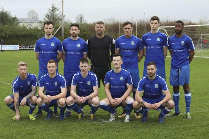 The Manulla side who booked their spot in the Connacht Cup Final last weekend. Photo: Manulla FC