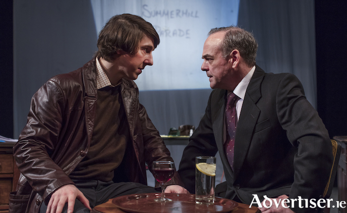 Ruairí Heading and Morgan C Jones in Haughey Gregory. Photo:- Anthony Wood