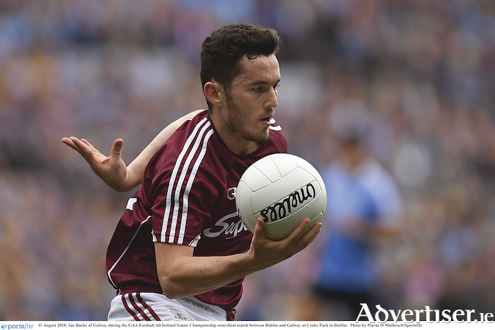 Ian Burke is expected to lne out for Galway in Syunday's Connacht Senior Football Championship opener against London on Sunday.