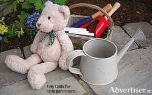 Tiny tools for little gardeners