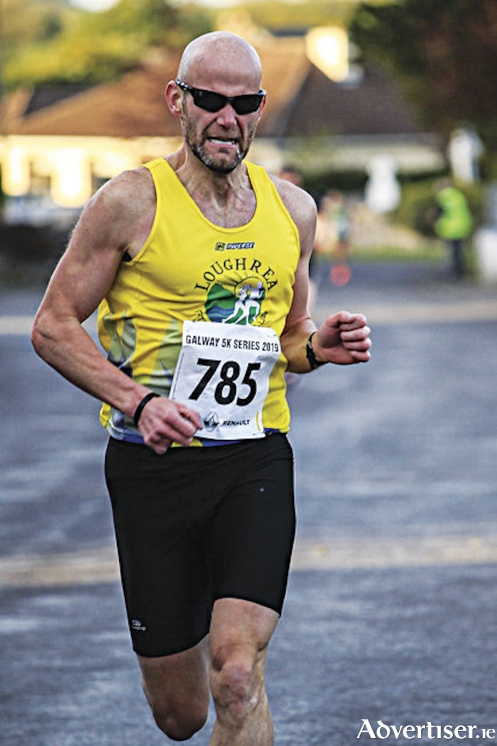 Caltra 5k winner Cathal O'Reilly.