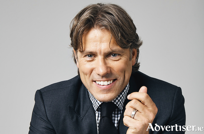 Liverpool's John Bishop is Galway bound in October.