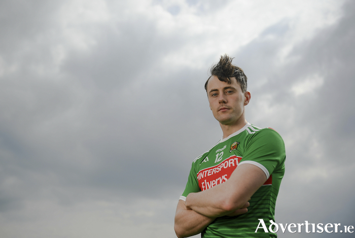 Ready to roll: Diarmuid O'Connor is chomping at the bit to get back to action for Mayo after missing the New York game. Photo: Sportsfile.