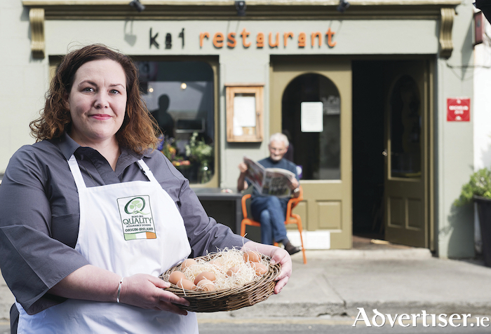 Jess Murphy, owner and chef, Kai Restaurant. Photo:Andrew Downes, Xposure.