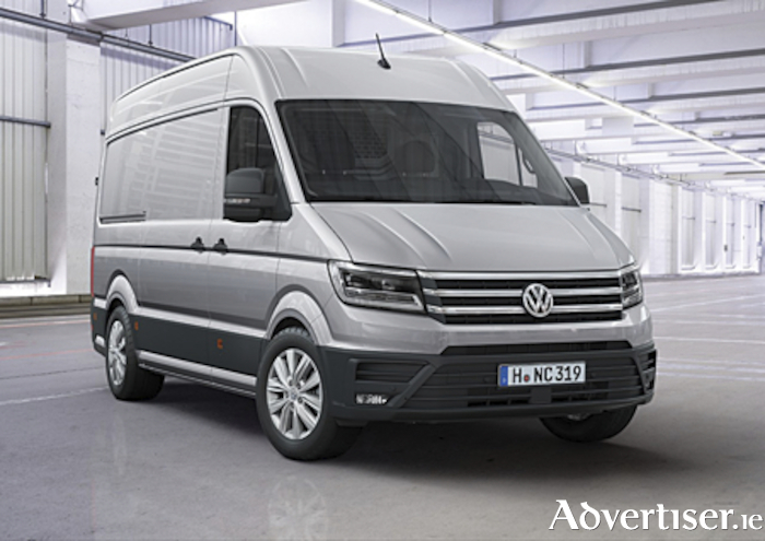 The new Volkswagen Crafter van