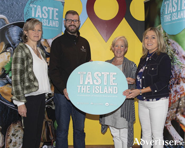 Pictured at the Failte Ireland 'Taste the Island' workshop were, l-r, Mia Tobin, Brewery Hops Ireland, Liam Tutty, Dead Centre Brewery, Sarah McCarthy and Tracey Coughlan, Failte Ireland.  Photo taken by Thomas Nolan Photography.