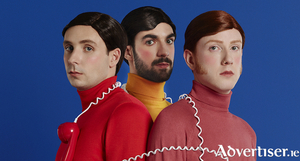 Two Door Cinema Club. Photo:- Aleksandra Kingo