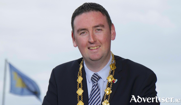 The Mayor of Galway, Cllr Mike Cubbard.