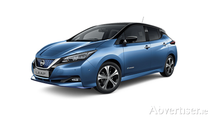 The enhanced Nissan LEAF now available from Tullamore NISSAN
