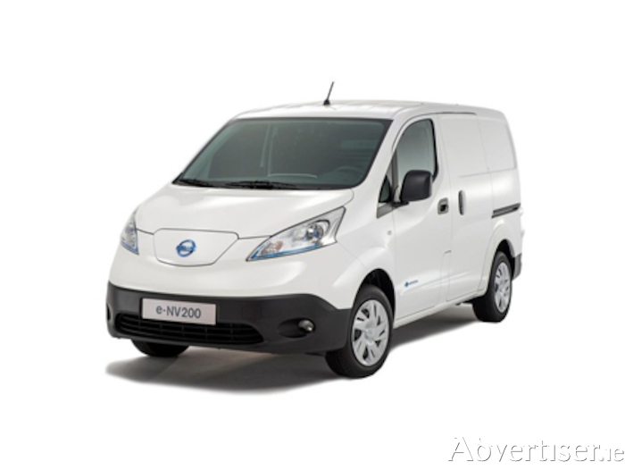 All new Nissan e-NV200 van