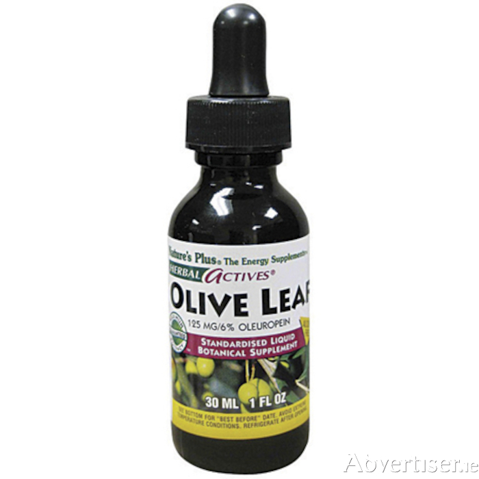 Olive Leaf is now available from Au Naturel, Irishtown, Athlone
