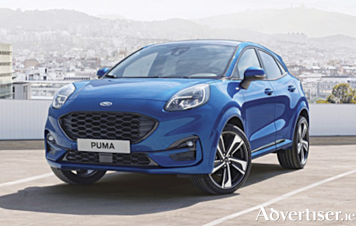 All new Ford Puma crossover model