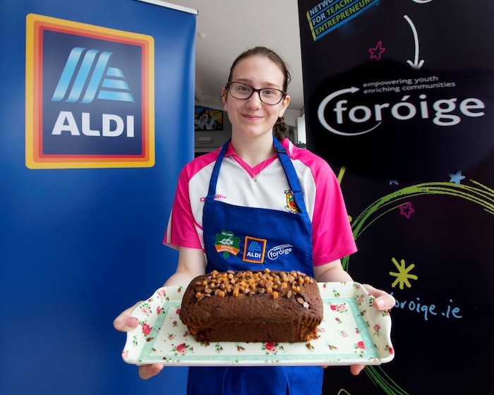 Jessalyn Jennings, from Brickens Foróige club has qualified for the Aldi Foróige National Junior Baking Finals