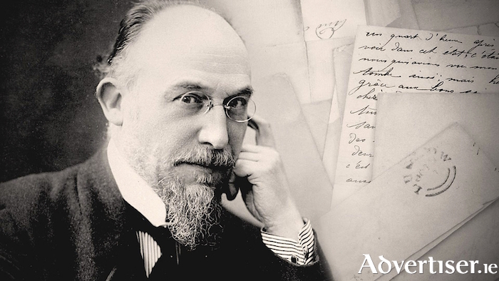 Erik Satie - the subject of a theatre piece at the Galway Fringe Festival.