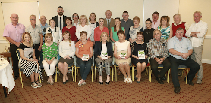 Committee, pictured with volunteers and sponsors at the launch of  Claremorris Agri Show 2019 at the press night in the McWilliam Park Hotel Photo: Michael Donnelly