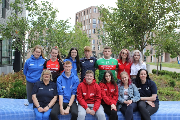 Future leaders from Mayo at Foroige Youth Leadership: Back row: Ciara Carroll, Sive McDonald, Laura Kilgannon, Fionnan Gallagher, Joshua Boles, Rayna More. Front row: Mary G Duffy, Arron Hughes, Kian Kilgannon, Heather Joyce, Wiktoria Urawaka, Mary Gaughen.