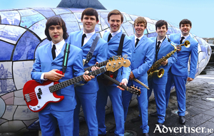 The cast of The Miami Showband Story.