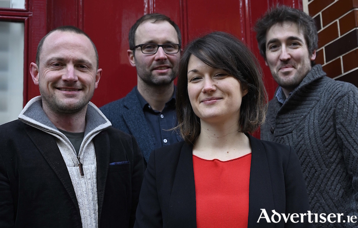 British jazz musician Trish Clowes and her band.