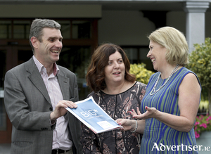 Carl Blake, Patricia McCrossan and Margaret Cox of Galway Executive Skillnet, organisers of BIG Leaders Summit on September 10 in Galway.