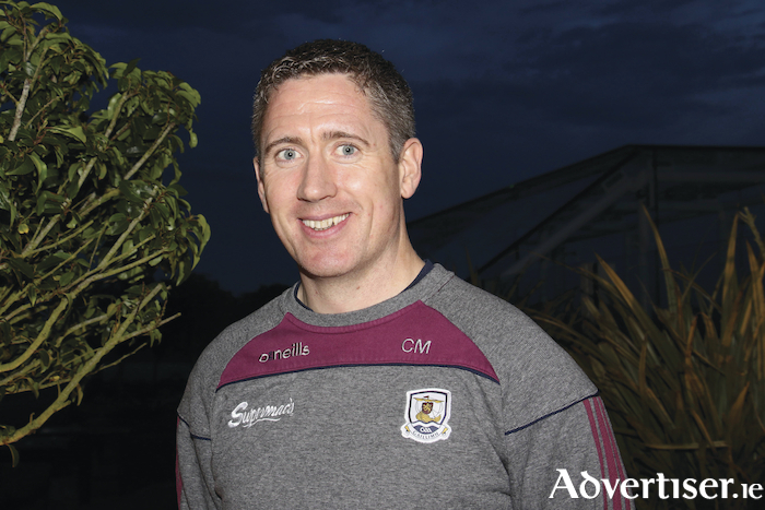 Galway Camogie manager Cathal Murray. 