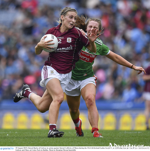 Galway wingback Sinead Burke - plays with heart and soul.