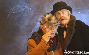 Steve Johnston as Sherlock Holmes and Rod Goodall as Dr Watson.