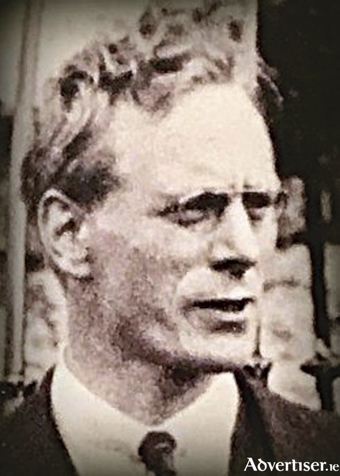 Liam Mellows: Bitterly resented the chaos of the Dublin command during the 1916 Rising.